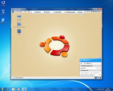 Screenshot TeamViewer Linux_Fernwartung