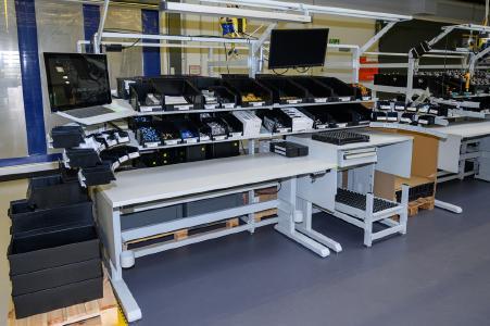 Arbeitsplatzlösung von Treston bei SKS Welding Systems