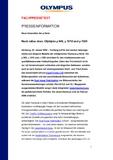 [PDF] Pressemitteilung: Noch näher dran: Olympus µ 840, µ 1010 und µ 1020