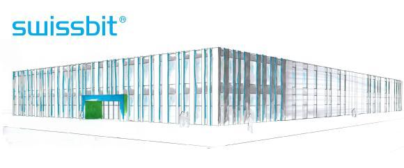 Das Architekturkonzept für die Erweiterung, die die Fertigungskapazitäten von Swissbit verdreifachen wird / Bildquelle: Swissbit
