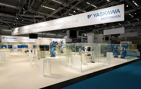 YASKAWA auf der Automatica 2012, München