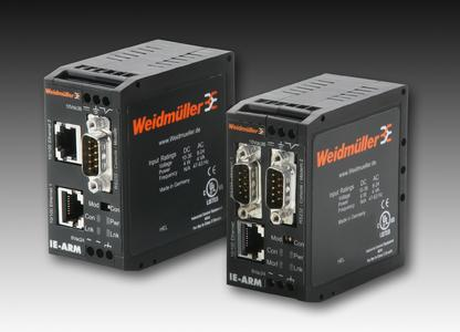 Caption: Weidmüller's mini routers with OSPF functionality: pathfinders for the net – compact and powerfully sophisticated