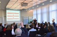 Die rege Beteiligung zeigte sich bereits bei dem einleitenden Vortrag von Rupert Brenninger, Medizinische Einrichtungen des Bezirks Oberpfalz.