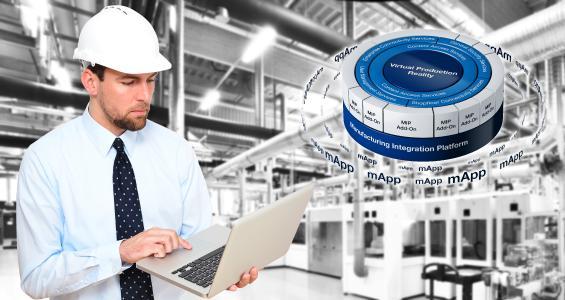 Hannover Messe 2018: Produktankündigung Manufacturing Integration Platform (MIP)