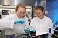 Schülerinnen und Schüler werden im InnoTruck selbst experimentieren können. © BMBF-Initiative InnoTruck / FLAD & FLAD Communication GmbH