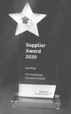 Siemens Supplier Award 2020 - Category Quality