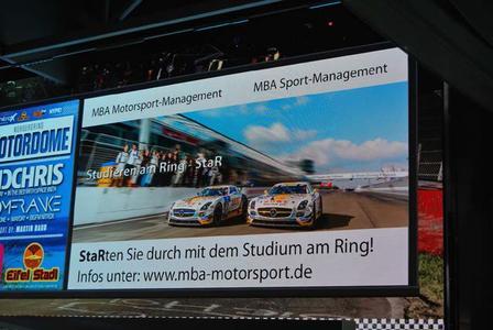 Am Nürburgring zum MBA weiterqualifizieren - jetzt informieren / © HS Kaiserslautern