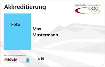 Winterspiele 2010: LEGIC® Sicherheit im Deutschen Haus