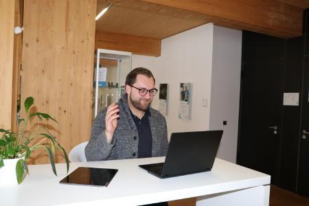 Markus Dienig ist Gesamtleiter des Projekts SpinnovationNet.