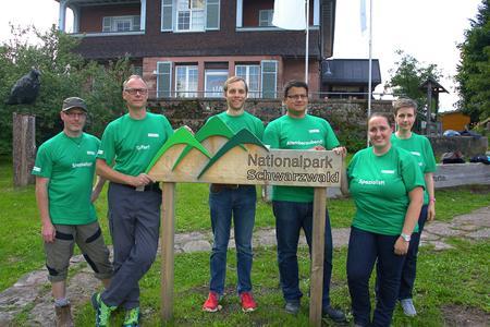 Das WFG-Team informiert sich über den Nationalpark (Bildquelle: WFG Nordschwarzwald )