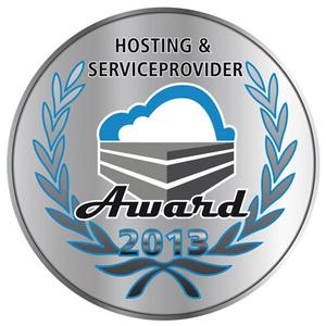 """Hosting & Service Provider Award"" 2013"