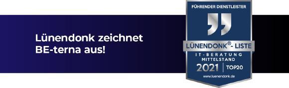 Lünendonk Siegel für BE-terna