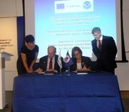 Building on a 30-year relationship, EUMETSAT and the US National Oceanic and Atmospheric Administration (NOAA) signed a long-term cooperative agreement, ensuring continued space-based operational monitoring of weather, ocean and climate