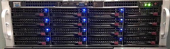 Im laufenden Betrieb überzeugte das NASdeluxe-System mit einer um 100 % gesteigerten Leistung.