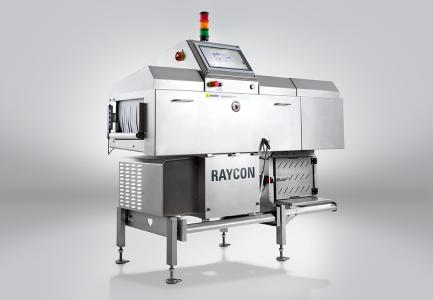 The X-ray inspection system RAYCON D+ meets all current guidelines of the food industry and detects smallest physical contaminations in any kind of packaging / Photo: Sesotec GmbH