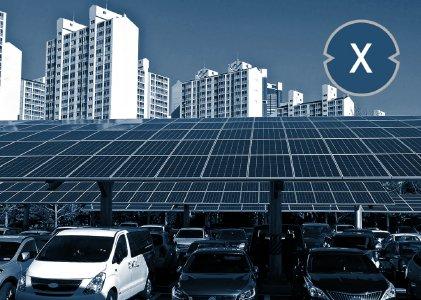 Solarcarport und die Solarpflicht/Solarcarportpflicht – Bild: Xpert.Digital / seo byeong gon Shutterstock.com