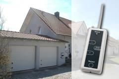 homematic funk sensor von eq 3 das garagentor per. Black Bedroom Furniture Sets. Home Design Ideas