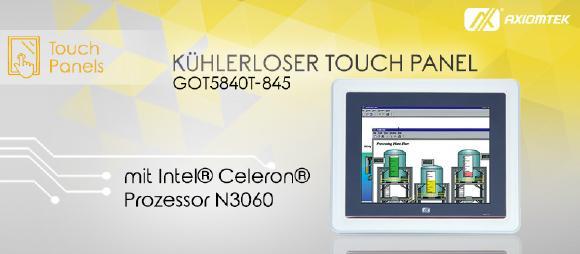 IP65-geschützter Touch Panel PC mit 8,4