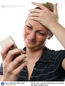 Handy-Viren - wie sie funktionieren und wie man sich davor schützen kann