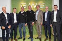 Nach der Vertragsunterzeichnung (von links):  Guido Günster (GWS) Georg Mersmann (GWS) Dieter Jester (EUROPART) Olaf Giesen (EUROPART) Udo Lorenz (GWS) Norbert Pinkerneil (GWS) Dennis Klein (GWS)
