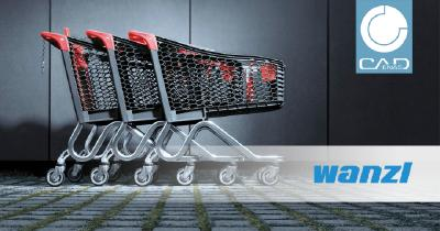 Wanzl shortens research and design times for the development of a new shopping cart by more than 2 hours with PARTsolutions