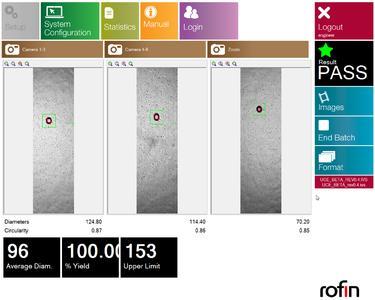 VisionPerfoControl – ROFINs Hochleistungskamerasystem zur Erfassung und Bemessung mikro-perforierter Löcher in transparenter Folie