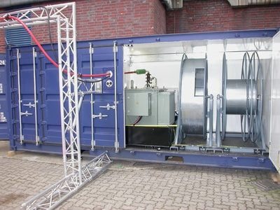 Determining the potential for optimizing electrostatic precipitators quickly and inexpensively: Siemens brings the mobile test installation to the customer