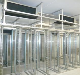 Top Cooler-Anlagen von Conect im Aufbau