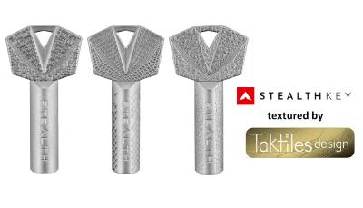 Stealth keys textured (c) Taktilesdesign GmbH