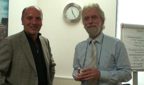 Prof. Veen und Dr. Kohn
