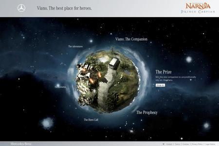 Für die Kooperation von Mercedes-Benz Vans und Walt Disney kreierte Syzygy eine 3D-Abenteuerwelt