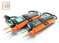 Weidmüller voltage testers: Weidmüller has equipped its second-generation two-pole voltage testers with extra functions and made even more improvements to its product range. New: the built-in, acoustic buzzer function