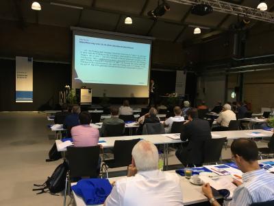 Positive Bilanz für das 3. Jahresforum elektrische Sicherheit 2017: Knapp 50 Teilnehmer und 6 Lösungsanbieter