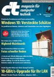 Titelblatt c't 16/20