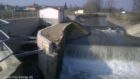 Kleinwasserkraftwerk Capianello im Raum Mailand von Green City Energy