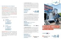 [PDF][ DISCOVER INDUSTRY Flyer