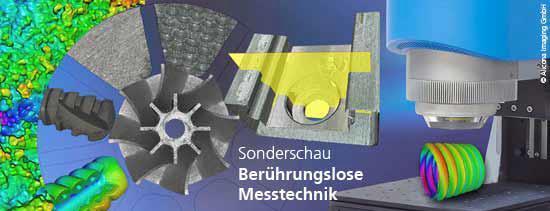8. Sonderschau Berührungslose Messtechnik auf der Control 2012 (8. - 11. Mai)