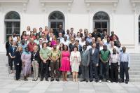 Group picture of all participants of the lab of tomorrow Uganda, Munich / Source: © GIZ / Martin Hangen