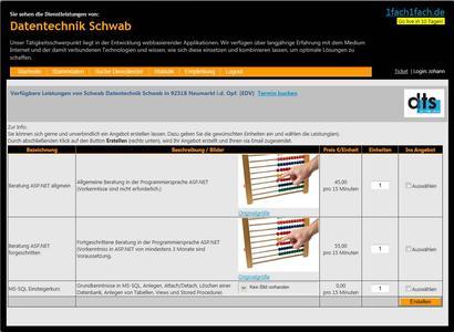 Dienstleistungsangebot aus Kundensicht – so stellt sich dem Suchenden das Angebot eines Dienstleisters dar