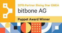 bitbone AG wird Puppet Gold Partner und Rising Star EMEA 2019