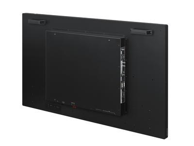 Für eine platzsparende Installation sind alle Anschlüsse integriert und ragen nicht aus der Einheit heraus (hier: FWD-S46H2)