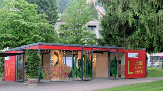 Pavillon -Landkreis Calw- auf der Landesgartenschau in Bad Herrenalb
