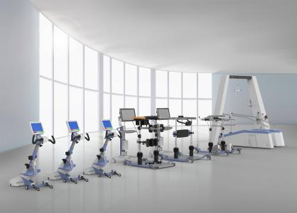 This is what the THERA-Trainer complete solutions for gait rehabilitation could look like