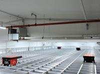 Automatische Kleinteilelager mit integriertem AutoStore System von S. Siedle & Söhne