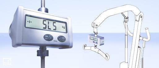 Die kompakte Lifterwaage SLS von HBM Test and Measurement ist als Medizinprodukt zugelassen.