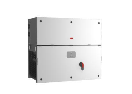 Die neuen String-Wechselrichter PVS-100/120 eignen sich sowohl für große kommerzielle als auch für indust-rielle Freiflächen- und Dachanlagen und bieten die beste Möglichkeit mit dem Solaranlagensystem zu interagieren (Quelle: ABB)