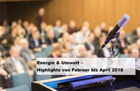 Herausforderungen der Energiebranche - Neue Veranstaltungen und aktuelle Termine