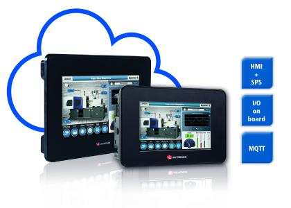 Spectra: UniStream Serie - All-In-One HMI + SPS + integrierte EA