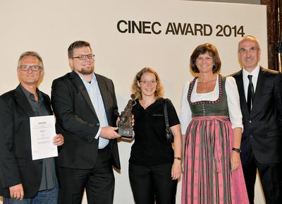 ARRI/ZEISS Master Anamorphic Lenses Honored at cinec 2014