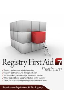 Produktbild Registry_First_Aid_7_Platinum_2D_Front_300dpi_rgb